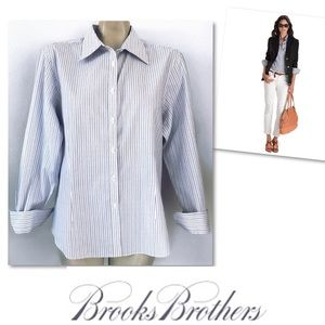 Brooks Brothers fitted Non Iron Shirt SZ 16